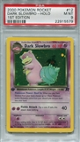 Pokemon Team Rocket 1st Edition Single Dark Slowbro 12/82 - PSA 9 - *22915579*