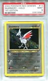Pokemon Neo Genesis Single Skarmory 13/111 1st Edition - PSA 9 - *22915581*