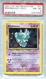 Pokemon Neo Revelation Single Misdreavus 11/64 - PSA 8 - *22915596*