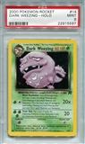 Pokemon Team Rocket Single Dark Weezing 14/82 - PSA 9 - *22915597*