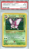 Pokemon Jungle Single Venomoth 13/64 - PSA 9 - *22915606*