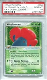 Pokemon Ex Hidden Legends Single Vileplume EX 100/101 - PSA 10 - *22915620*