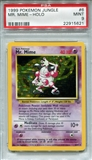 Pokemon Jungle Single Mr. Mime 6/64 - PSA 9 - *22915621*