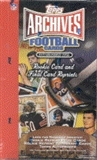 2001 Topps Archives Football Hobby Box