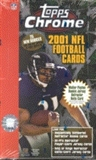 2001 Topps Chrome Football Hobby Box
