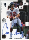 1999 Upper Deck SP Signature Autographs #CC Chris Chandler