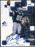 1999 Upper Deck SP Signature Autographs #DP Drew Pearson