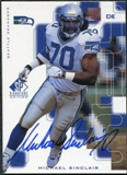 1999 Upper Deck SP Signature Autographs #MS Michael Sinclair