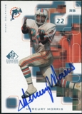 1999 Upper Deck SP Signature Autographs #MY Mercury Morris