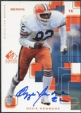 1999 Upper Deck SP Signature Autographs #OZ Ozzie Newsome