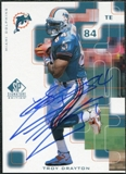 1999 Upper Deck SP Signature Autographs #TR Troy Drayton