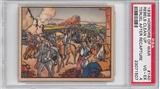 "1938 Gum Inc. Horrors of War #140 ""Rebels Clean Up Teruel"" PSA 4 (VG-EX) *1507"