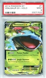 Pokemon X & Y Single Venusaur EX 1/146 - PSA 9 - *23071522*