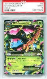 Pokemon X & Y Single Mega Venusaur EX 2/146 - PSA 9 - *23071524*