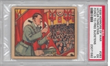 "1938 Gum Inc. Horrors of War #283 ""Hitler Threatens Force to Free Sudetens"" PSA 5 (EX)"
