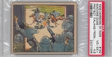 "1938 Gum Inc. Horrors of War #192 ""Machine Guns Protect Italians"" PSA 4.5 (VG-EX+) *1594"