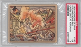 "1938 Gum Inc. Horrors of War #143 ""Italian Bomb Red Cross Unit"" PSA 5 (EX) *1596"