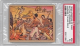 "1938 Gum Inc. Horrors of War #96 ""Native Uprisings Harass Italian Rule"" PSA 5 (EX) *1597"