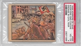"1938 Gum Inc. Horrors of War #285 ""Sudentens And Czechs Civil War"" PSA 4 (VG-EX) *1598"