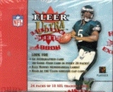 2001 Fleer Ultra Football Hobby Box