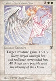 Magic the Gathering Legends Single Divine Transformation LIGHT PLAY (NM)