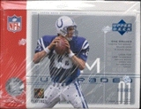 2001 Upper Deck Graded Football Hobby Box