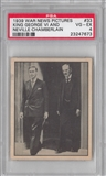 "1939 Gum Inc. Horrors of War #33 ""King GeorgeVI & Chamberlain"" PSA 4 (VG-EX) *7673"