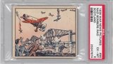 "1938 Gum Inc. Horrors of War #96 ""Nazi Bombers Raid Scotland"" PSA 6 (EX-MT) *7674"