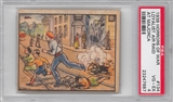 "1938 Gum Inc. Horrors of War #134 ""Loyalist Air Raid"" PSA 4 (VG-EX) *7687"