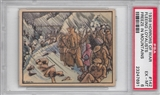 "1938 Gum Inc. Horrors of War #142 ""Fleeing Loyalists Freeze In Mountains"" PSA 6 (EX-MT)"