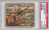 "1938 Gum Inc. Horrors of War #156 ""Japanese Burn Villages"" PSA 6.5 (EX-MT+) *7692"