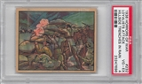 "1938 Gum Inc. Horrors of War #232 ""Loyalists Attack Hillside Trenches"" PSA 4 (VG-EX)"