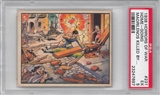 "1938 Gum Inc. Horrors of War #231 ""Home-Going Madrilenos Killed"" PSA 5 (EX) *7697"