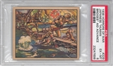 "1938 Gum Inc. Horrors of War #229 ""Japanese Human Bridges"" PSA 6 (EX-MT) *7698"