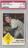 1963 Fleer Baseball #42 Sandy Koufax PSA 6 (EX-MT) *7717