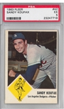 1963 Fleer Baseball #42 Sandy Koufax PSA 5 (EX) *7718