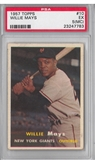 1957 Topps Baseball #10 Willie Mays PSA 5(MC) (EX) *7783