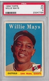 1958 Topps Baseball #5 Willie Mays PSA 5 (EX) *7794