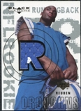 2000 Upper Deck Black Diamond #161 Reuben Droughns RC Jersey