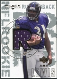 2000 Upper Deck Black Diamond #162 Jamal Lewis RC Jersey