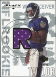 2000 Upper Deck Black Diamond #173 Travis Taylor RC Jersey