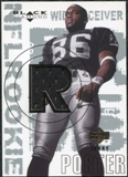 2000 Upper Deck Black Diamond #176 Jerry Porter RC Jersey