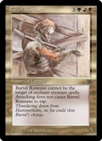 Magic the Gathering Legends Single Bartel Runeaxe - NEAR MINT (NM)