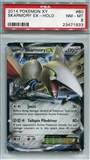 Pokemon X & Y Single Skarmory EX - PSA 8 *23471933*