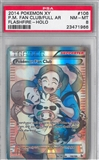 Pokemon Flashfire Single Pokemon Fan Club Full Art - PSA 8 *23471966*