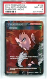 Pokemon Flashfire Single Lysandre Full Art - PSA 8 *23471967*