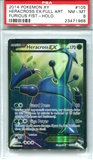 Pokemon Furious Fists Single Heracross EX Full Art - PSA 8 *23471968*