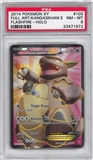Pokemon Flashfire Single Kangaskhan EX Full Art - PSA 8 *23471972*