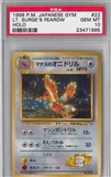 Pokemon Gym Single Lt. Surge's Fearow Japanese - PSA 10 *23471985*