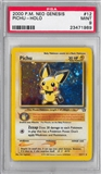 Pokemon Neo Genesis Single Pichu - PSA 9 *23471989*